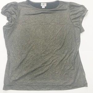🔥FREE🔥Worthington black/gold blouse PXL